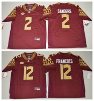 american football sanders jersey - Florida State Seminoles Deondre Francois Deion Sanders College Football Limited Jersey Red Mens Rugby Jerseys Men s American football