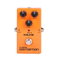 Wholesale Original Product NUX DS Stomp Boxes Distortion Overdrive DS Classic Distortion True Bypass guitar parts accessories