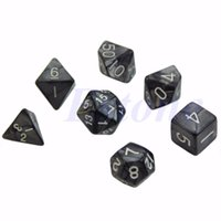 Wholesale Sided Dice D4 D6 D8 D10 D12 D20 Dungeons amp Dragon D amp D RPG Poly Game Set of Chess