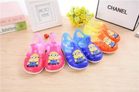 baby collectibles - Children s sandals with high quality buttons Collectibles small yellow discoloration of people Baotou baby sandals slippers colors