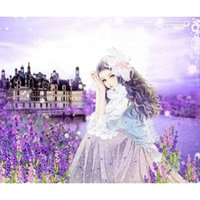 beautiful pictures people - diamond embroidery home decor Beautiful girl map Pattern Rhinestones Diy Diamond Painting wall picture X50CM HWE