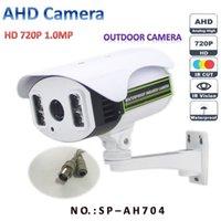 al por mayor nuevas cámaras de vigilancia-El envío nueva AH704 1.0MP 720P AHD analógica cámara de alta definición de Vigilancia CCTV BNC seguridad del IR cámara de vídeo al aire libre de DHL