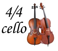 Wholesale 1 wood cello High quality solid Maple wood makes cello