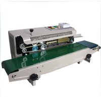 automatic banding machine - Continous Band Sealing Machine plastic bag sealing machine factory with high speed
