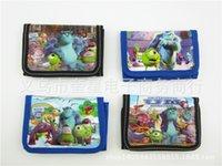 Wholesale New Despicable Me Monsters University Spiderman little purse children s toys gifts wallet folded wallet pupils