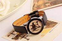 amazon watch - Amazon hot style Ms quartz kitten design dial watch ms students watch simple fashion