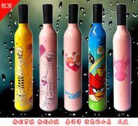 Wholesale Plumblossom U9 Styles Creative bottle umbrella sun umbrella fashion wine bottle umbrella sunny umbrellas styles DHL
