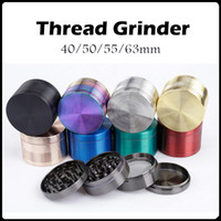 authentic patterns - Authentic Thread Pattern Grinders Zinc Alloy Material mm Metal Grinders layers Herb Grinders VS Sharpstone Grinders