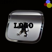 Wholesale For Peugeot fuel tank cap stickers Decorative stickers plating electroplate car stickers