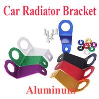 Wholesale Aluminum Radiator Stay Bracket for honda CIVIC EG6 EG9 EG Si for JDM Style For Honda Civic EK Radiator