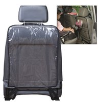 Wholesale 2016 Car Seat Backseat Protector transparent dust proof protective sleeve Babies Kick Mat Protects from Dirt seat covers Hot Sales
