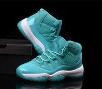 aqua bond - Air Retro XI High Teal Aqua Green Sneaker Good Quality Basketball Shoes Sizes US Street Fashion