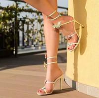 Stiletto Heel animal platform - 2016 Fahion Elegant Butterfly Sandals For Women Summer High Heel Gladiator Party Shoes Woman Pink Silver Platform Boots