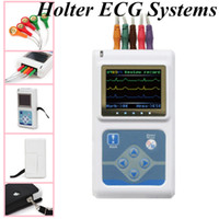 Wholesale TLC9803 Dynamic ECG EKG Systems Electrocardiograph Systems Holter DCG OLED COLOR DISPLA