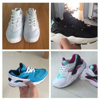 Wholesale 2016 New Arrivaling Air Huarache Running Shoes For Children Fashion High Quality Huaraches Trainer Athletic Sport Sneakers Eur