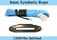 Others atv winch fairlead - quot ft Synthetic Winch Rope with quot Hawse Fairlead ATV Winch LinePlasma Winch Cable