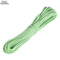 Wholesale New m Strand Glow in Dark Nylon Parachute Camping Cord for Camping Climbing Camping Rope Hiking Clothesline