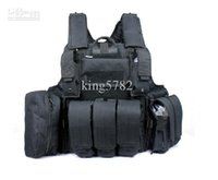 Wholesale Military army HEAVY DUTY Tactical Combat ARMOR Vest black green tan CP ACU
