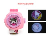 Wholesale The New Cartoon Watch Elementary Children Animated Cartoon Creative Gift Projection Watch Movement Jumping Rope Suits