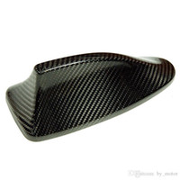 Wholesale 5 SERIES F10 F18 M5 REAL CARBON FIBER AERIAL FIN CAR ANTENNAS COVER For BMW