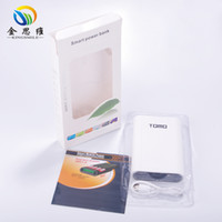 bank displays - TOMO V8 Intelligent Portable Display powerbank Box Battery Charger V A Powerbank Case Tomo power bank For all smart phone
