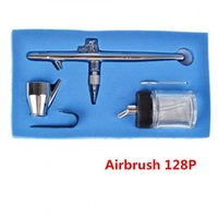 Wholesale mm CC P Airbrush Double Action Professional Capacity Pen Spray Gun Kit Set for Makeup Tools