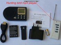 Wholesale Bird MP3 hunting MP3 Bird decoy hunting tool with remote controller and speaker