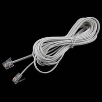 adsl telephone cable - High Speed FT M RJ11 P4C Pin Telephone Phone ADSL Modem Line Cord Cable