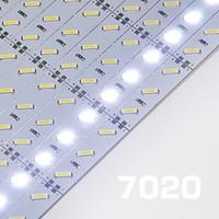 Wholesale 10pcs DC12V high lumen SMD led rigid light bar cool white cm leds led strip light for indoor decoration