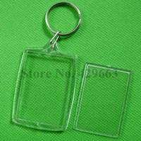 al por mayor marcos de cuadros claves-Libere el llavero dominante partido del marco del marco de la foto del parte movible del arco rectangular libre del arco