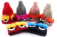 ac knit cap - New Children Knitted Autumn Winter Hats Children For Big Girl Fashion Casual Accessories Hats Caps AC
