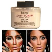 ben factory - Free DHL Ben Nye Luxury Powder g New Natural Face Loose Powder Waterproof Nutritious Banana Brighten Long lasting Factory price