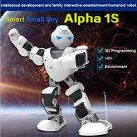 Wholesale 2016 newest KID TOY SMART HUMANOID ROBOT UBTECH Alpha s D Programmable For Intelligent Life Companion Entertainment Education