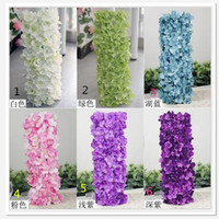 arches for wedding - Elegant Artificial Silk Tofu pudding arch flowers Ceremony pavilion For Wedding Centerpieces decoration BSH