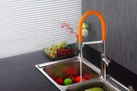 Wholesale Feenice spring kitchen tap with color tube