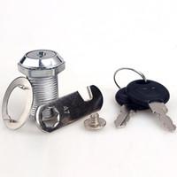 Safe Universal Cam Cylinder Locks Tool Box File Cabinet Desk Drawer Lock  with 2 Keys Free Shipping