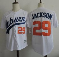 auburn tigers baseball - Cheap Auburn Tigers Throwback VINTAGE Baseball jersey White Bo Jackson Auburn White Tigers University Flexbase Baseball Jerseys