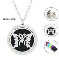 animal perfume - With chain as gift L stainless steel MM essential oil diffuser pendant necklace Perfume Locket Necklace