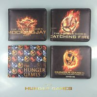bag hunger - The Movie Hunger Games Wallets Cartoon Animation Purse Quality Leather Card Money Bags Wallet