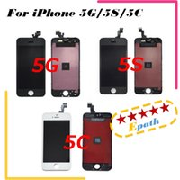 Wholesale 2016 AAA Quality for iPhone G iPhone S iPhone C LCD display with touch screen digitizer complete screen