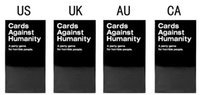 Wholesale Immediate Delivery Against Humanity Cards US AU Basic Edition Cards educational toys Against Game In Stock