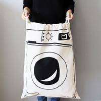 Wholesale 100 Batman Canvas Storage Bags Cute Clothing Storage Bags Bear Storage Bags for Clothing Laundry