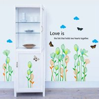 balcony post - High quality Fashion Personality DIY Vinyl Flowers Waterproof Removable Living Room Balcony Wall Sticker