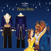 beauty and the beast - Halloween Movie Beauty and the Beast Prince Tuxedo Cosplay Costume Custom Made Size S M L XL XL XL