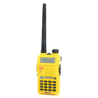 Wholesale High Quality Baofeng UV R W W High Low Power Channels VOX TOT Ham Two Way Radio Yellow