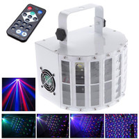 Wholesale RGBW LED Stage Light DMX512 AC95 V laser light Stage Remote control remote control KTV DJ Disco AU US UK EU