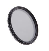 Wholesale Andoer mm ND Filter Fader Neutral Density Adjustable ND2 to ND400 Variable Filter for Canon Nikon DSLR Camera