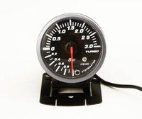 Wholesale BAR BOOST TURBO GAUGE mm Sterpper Motor Movement With peak Warning