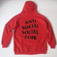 airs club - ANTI SOCIAL SOCIAL CLUB Sweatshirts Mens Hip Hop Streetwear Hedging Hoodies KANYE WEST Air Sportswear