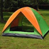Wholesale Anti UV Oxford Family Camping Tents Fishing Tents Shelters Waterproof High Quality Cheap Travel Outdoors Equipments Tents Person Doors